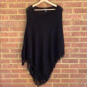 NY Sweater Collection Poncho